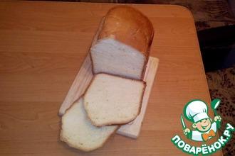 Рецепт: Хлеб на молоке от Борисыча