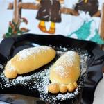 Японские булочки Следы Йети