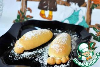 Рецепт: Японские булочки Следы Йети