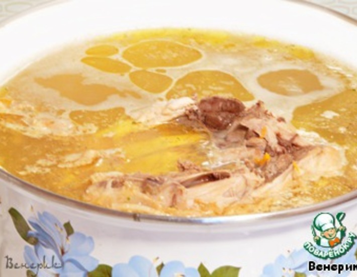 Рецепт: Крестьянский суп Затируха