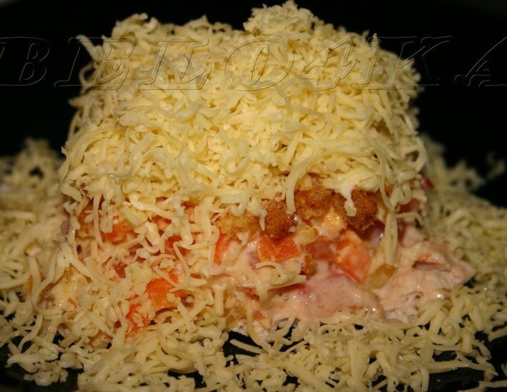 Рецепт: Салат Сугроб здоровья