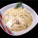 Суп сливочно-сырный с фаршем Объеденье
