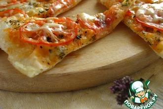 Рецепт: Пицца на сковородке