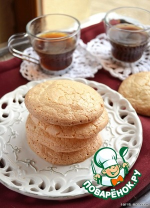 Almond biscuits according to GOST