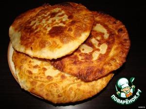 Tortillas with scrambled eggs No. 2
