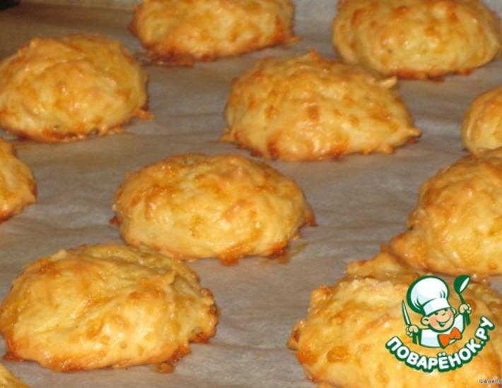 Рецепт: Печенье «Сырное облачко»