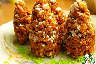 Рецепт: Печенье Новогодние шишки
