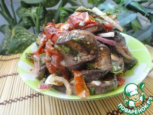 Гриль-салат – кулинарный рецепт