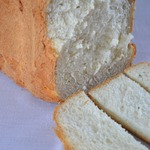 Кефирный хлеб с сушеной петрушкой