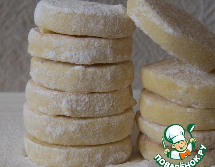 Рецепт: Лимоннoe печеньe