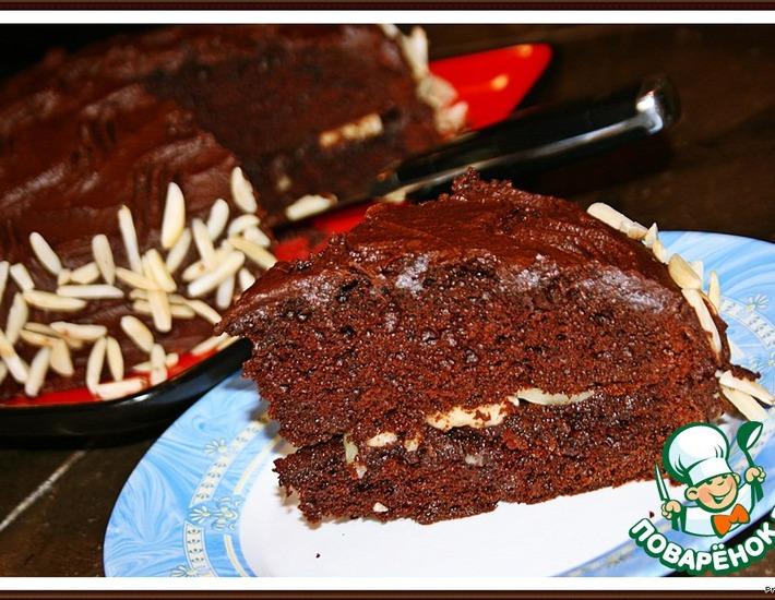 Рецепт: Идеальный шоколадный торт Хершес