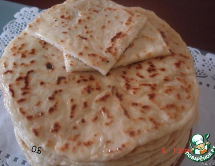 Рецепт: Турецкие лепешки с мясом