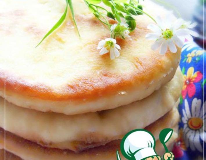 Рецепт: Лепешки на кефире от бабушки