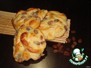 Рецепт Сладкие ленивые булочки с заварным кремом