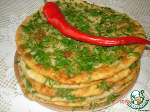 Tortillas with meat