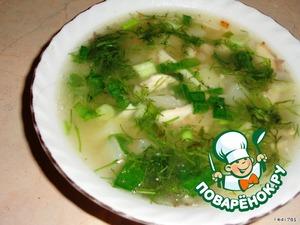 Сырный суп по-английски
