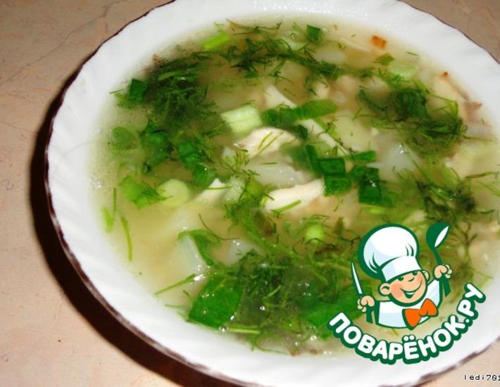 Рецепт: Сырный суп по-английски