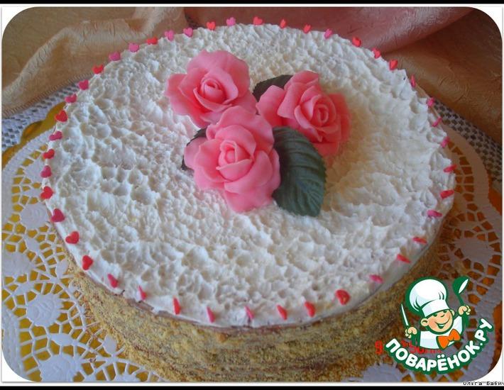 Рецепт: Шоколадный торт на сковороде