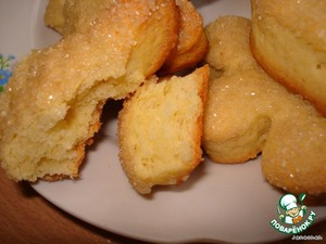 Cookies from shortbread dough
