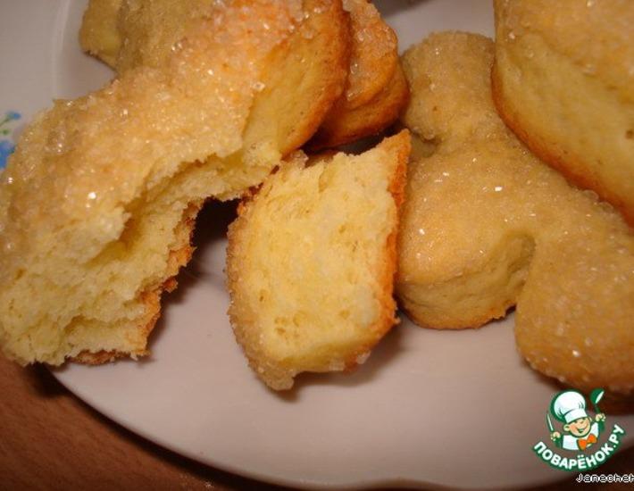 рецепт дрожевого печенья