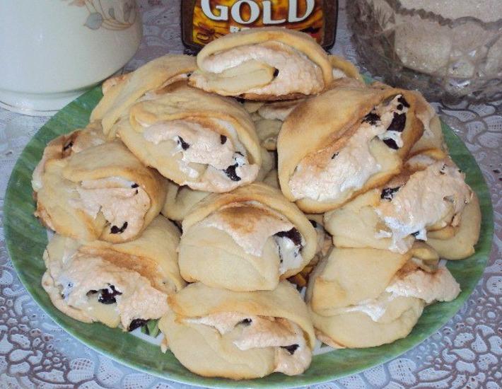 Рецепт: Пирожные Ракушки