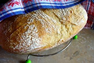 Рецепт: Хлеб без замеса «Проще не бывает»