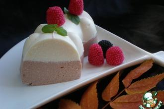 Рецепт: Творожный торт Наслаждение
