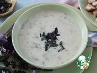 Суп-пюре из кабачков и не только ингредиенты