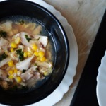 Кудрявый суп в азиатском стиле