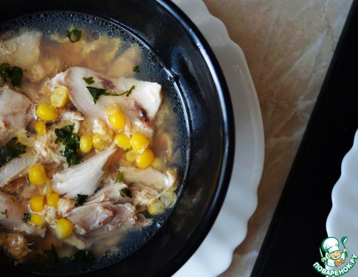 Рецепт: Кудрявый суп в азиатском стиле