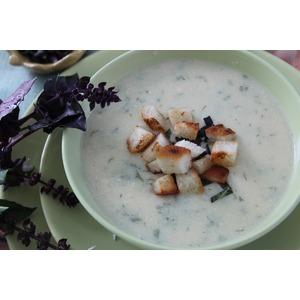 Суп-пюре из кабачков и не только
