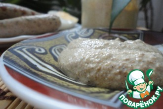 Рецепт: Горчица из перетертых зерен