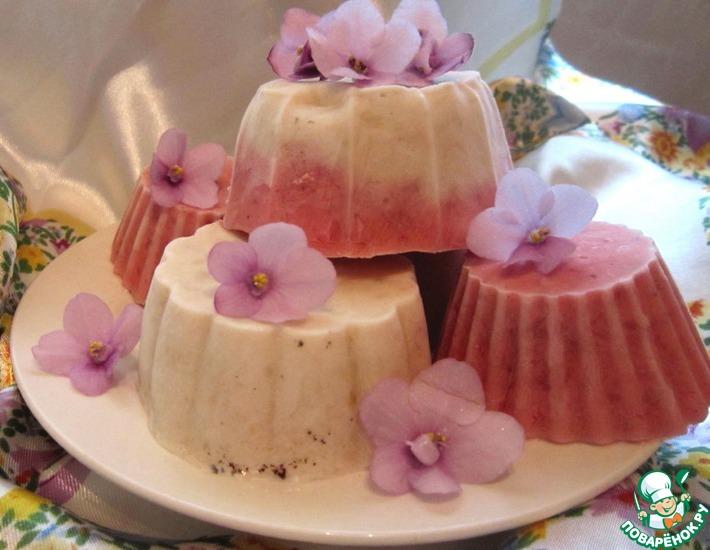 Фруктовое мороженое на йогурте