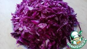 Červené zelí/ Краснокочанная капуста по-чешски — Vinegrette