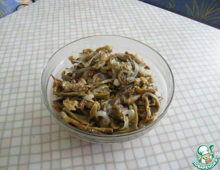 Рецепт: Баклажаны с грибной приправой