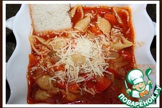 Рецепт: Томатный суп Проще простого