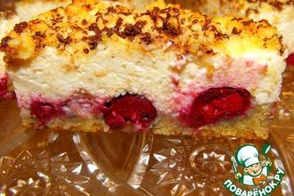 Рецепт: Творожная запеканка-пирог