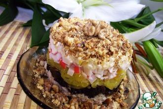Рецепт: Торт-салат Волшебство