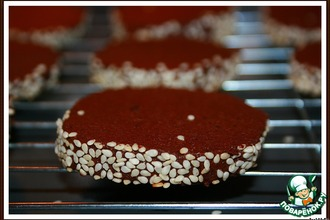 Рецепт: Веселое кофейное печенье