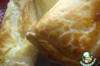 Рецепт: Хачапури слоеный