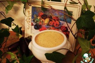 Рецепт: Баклажанный крем-суп Ренуар