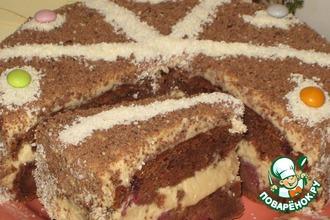 Рецепт: Торт «Вкусняшка без хлопот»