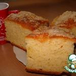 Творожно-дрожжевой пирог Сахарок