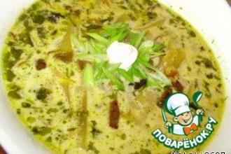 Рецепт: Суп грибной по-польски