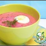 Холодный летний суп Холодник