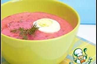 Рецепт: Холодный летний суп Холодник
