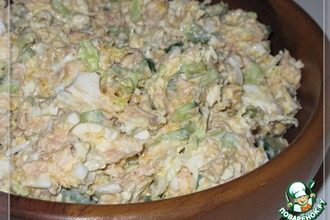 Рецепт: Салат «Нежный рыб»