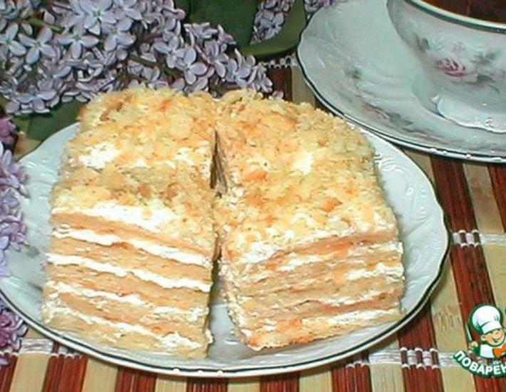 Рецепт: Торт почти Наполеон