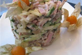 Рецепт: Салат с языком