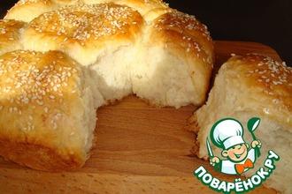 Рецепт: Хлеб Ромашка